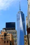 World Trade Center, Νέα Υόρκη, ΗΠΑ Στοκ Φωτογραφία