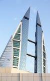 World Trade Center au Bahrain Images libres de droits
