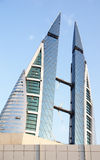 World Trade Center in Bahrain Royalty Free Stock Images