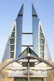 World Trade Center in Bahrain Royalty Free Stock Photography