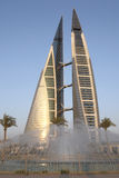 World Trade Center - Bahrain Photographie stock libre de droits