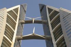 World Trade Center - Bahrein fotografía de archivo