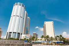 World Trade Center and Bank of Ceylon Stock Image