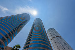 World Trade Center and Bank of Ceylon buildings are the tall building in Colombo Stock Photo