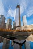 World Trade Center-Bodennullpunkt Lizenzfreie Stockfotos