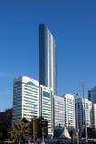 World Trade Center Buduje w Abu Dhabi Zdjęcie Stock