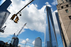 World Trade center buildings, New York Royalty Free Stock Photos