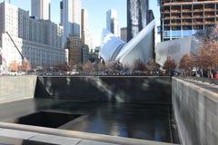 World Trade Center centre and 9/11 memorial New York, USA Stock Photography
