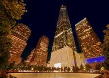 World Trade Center, commemorativo Fotografia Stock