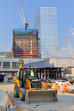 World Trade Center Construction Stock Images