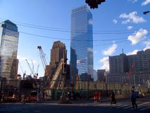 World Trade Center dans NYC, Etats-Unis Photo libre de droits