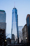 2 World Trade Center. Day view of 2 World Trade Center, almost ready Stock Image