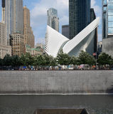 World Trade Center 9/11 de memorial Imagens de Stock
