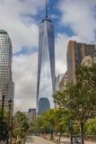 World Trade Center de tour de liberté à New York Images libres de droits