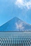 World Trade Center di prospettiva una retrocedere Immagine Stock Libera da Diritti