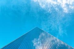 World Trade Center di prospettiva una retrocedere Immagini Stock Libere da Diritti