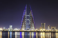World Trade Center du Bahrain Photos stock