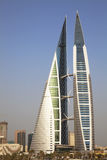 World Trade Center du Bahrain, Manama, Bahrain Photo libre de droits