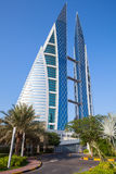 World Trade Center du Bahrain, Manama, Moyen-Orient Photo stock