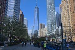 World Trade Center em New York fotos de stock royalty free