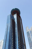 World Trade Center en Doha Foto de archivo