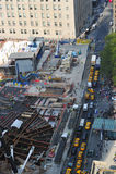 World Trade Center en het Financiële Centrum van de Wereld Royalty-vrije Stock Fotografie