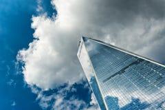 World Trade Center esteriore della facciata una Immagini Stock