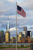 World Trade Center Freedom Tower Arkivbilder