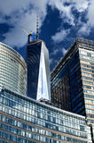 World Trade Center Freedom Tower et parc de batterie  Images libres de droits