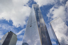 World Trade Center Freedom Tower in New York Stock Image