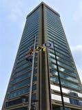 World Trade Center in het M.D. van Baltimore stock afbeelding