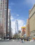 World Trade Center i New York City Royaltyfria Bilder