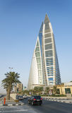 World Trade Center Manama Bahrain Photo stock