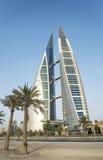 World Trade Center Manama Bahrein Foto de archivo