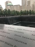 World Trade Center Memorial Stock Images