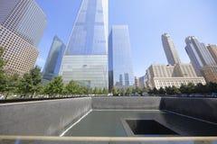 World Trade Center Memorial New York Stock Photos