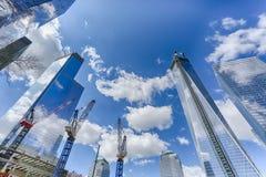 World Trade Center miejsce Zdjęcie Stock