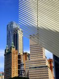 World Trade Center exterior and office buildings Stock Photos