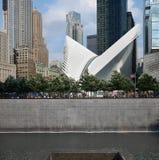 World Trade Center 9/11 monumento Imagenes de archivo