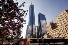 World Trade Center New York Royaltyfri Bild