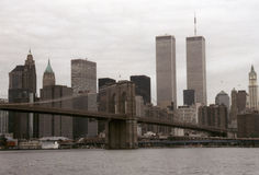 World Trade Center, New York Fotografie Stock Libere da Diritti
