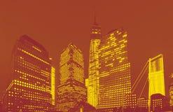 World Trade Center in New York stock photo