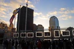 World Trade Center, New York, EUA Foto de Stock