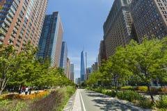 World Trade Center New York, ledare Arkivbilder