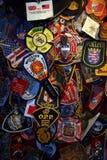 World Trade Center New York, USA Royaltyfri Bild