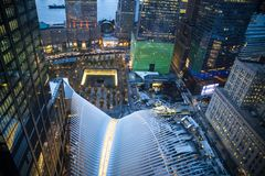 World Trade Center NYC Image libre de droits