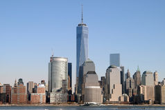 World Trade Center, NYC. World Trade Center, New York City Royalty Free Stock Photography