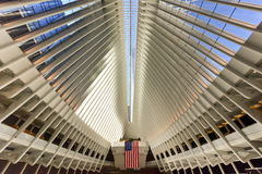 World Trade Center Oculus - de Stad van New York Royalty-vrije Stock Foto