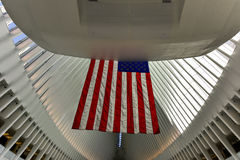 World Trade Center Oculus - de Stad van New York Stock Afbeeldingen