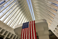 World Trade Center Oculus - de Stad van New York Royalty-vrije Stock Foto's